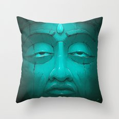 Buddha I. Throw Pillow