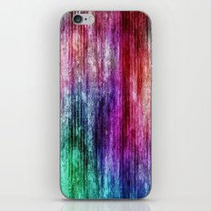 Melting Rainbow Watercolor Abstract iPhone & iPod Skin
