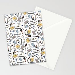 Painter's Supplies - Clear Stationery Cards