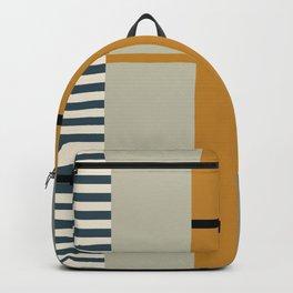 Irregular Stripes 2 neutral Backpack