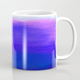 Peace 1 Blue Landscape Abstract Coffee Mug