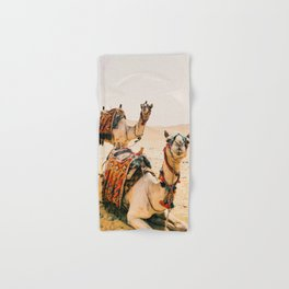 Camels Hand & Bath Towel