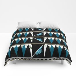 Blue Shapes Fanatasy Comforters