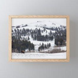 Specimen Ridge - Yellowstone National Park Framed Mini Art Print