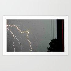 A Spark of Lightning Art Print