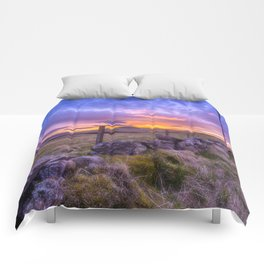 West Lomond Sunset Sky Comforters