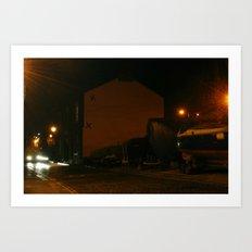 Evening Lights 5 Art Print