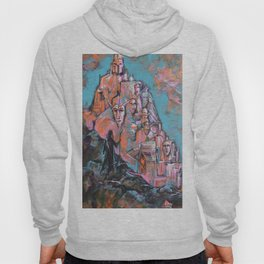 Approaching the City of Shadows Hoody
