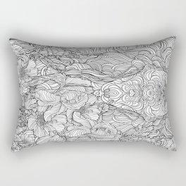 Trance Rectangular Pillow