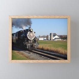 Full Steam Ahead Framed Mini Art Print