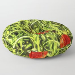 Poppys Van Goth Floor Pillow