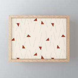 Minimal Winter Framed Mini Art Print