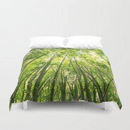 Maui Bamboo Forest Duvet Cover