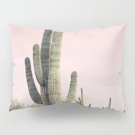 Blush Sky Cactus Pillow Sham