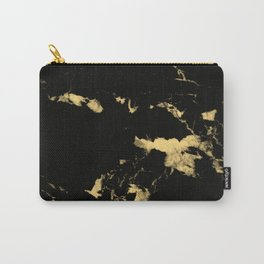 Black Marble #5 #decor #art #society6 Carry-All Pouch