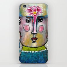 Three Faces of Beauty iPhone & iPod Skin