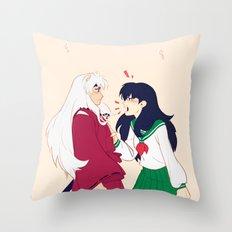 SIT BOY Throw Pillow