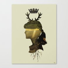 New Fawn Glory Canvas Print