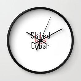 Skilled Cuber Speed Cubing Breaker Wall Clock