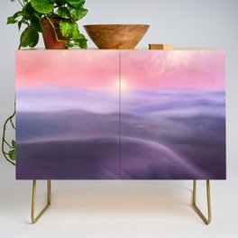 Minimal abstract landscape III Credenza