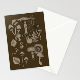 Forest Floor Night Stationery Cards