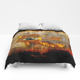 Desert Fire - Eye of Horus Comforters