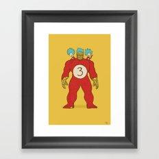 3 Things Framed Art Print