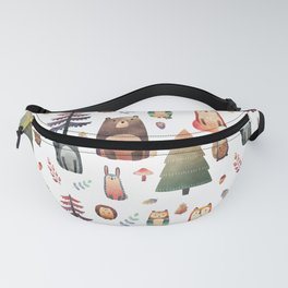 forest friends Fanny Pack