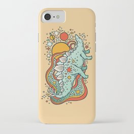 Star Stego | Retro Reptile Palette iPhone Case