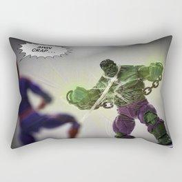 Unleash The Hulk! Rectangular Pillow
