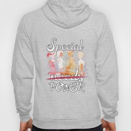Special Power Disability Cool Water Color Illustration T-Shirt & Apparel Hoody