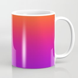 Colorful Gradient Pattern Neon Abstract Rainbow Coffee Mug