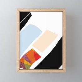 Some Shapes Framed Mini Art Print