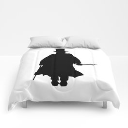 Jack the Ripper Silhouette Comforters