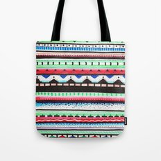 Pattern Doodle Three Tote Bag