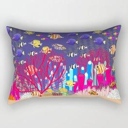 Coral Reef Rectangular Pillow