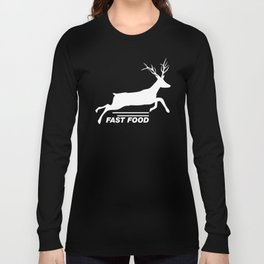 Fast Food  Long Sleeve T-shirt