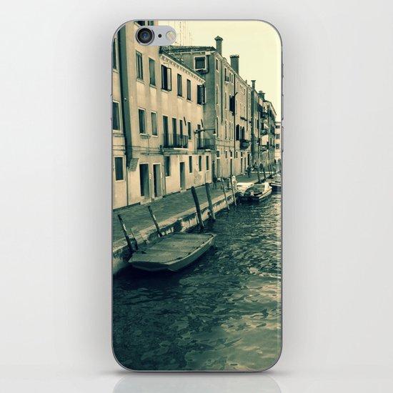 Venezia, where my heart is iPhone & iPod Skin
