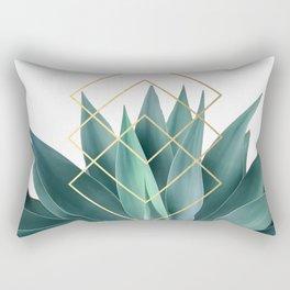 Agave geometrics Rechteckiges Kissen