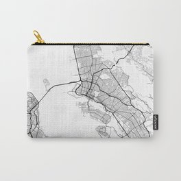 Minimal City Maps - Map Of Oakland, California, United States Carry-All Pouch