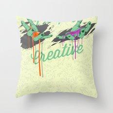 Deeply Creative Throw Pillow