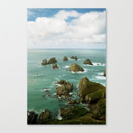 Where two oceans meet Canvas Print