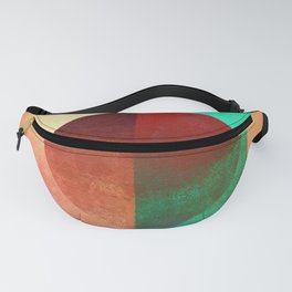 Broken Circle (Abstract Allegory) Fanny Pack