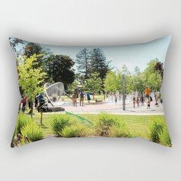 Splash Pad in Traverse City, Michigan Rectangular Pillow