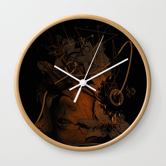 The Lost Track Wall Clock