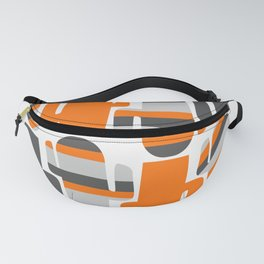 Modern striped cacti Fanny Pack
