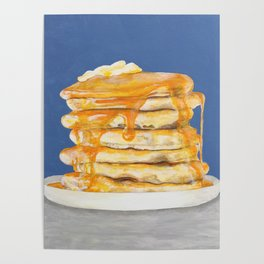 PANCAKES WITH JESUS Poster