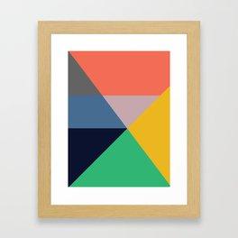 Mid Century Modern Vintage 11 Framed Art Print
