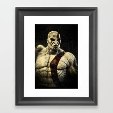 kratos Framed Art Print