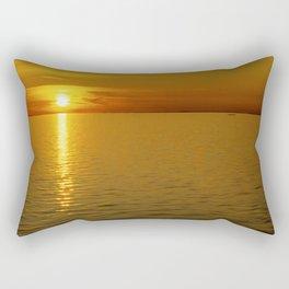 Swedish Sunset Rectangular Pillow